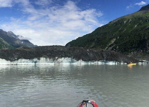 Valdez, kayak in Alaska