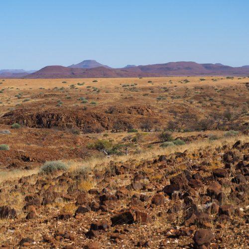 Paesaggio africano, Damaraland
