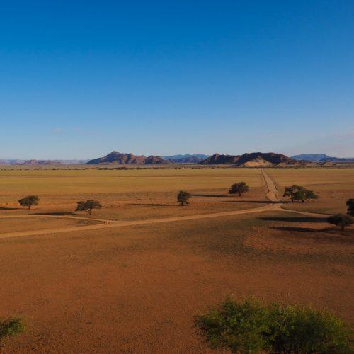 Vista da Elim Dune, Namibia