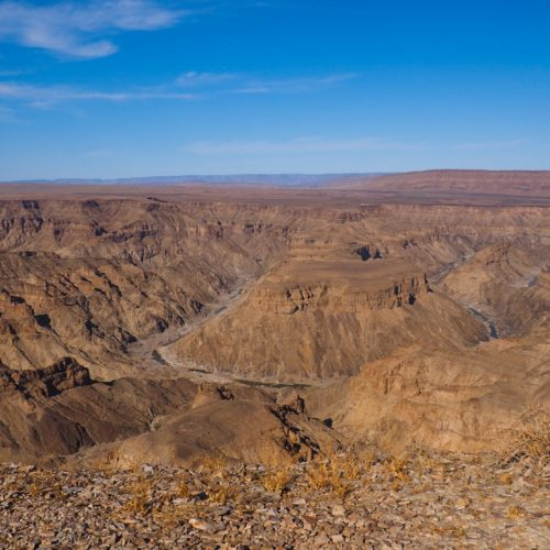Fish River Canyon, Main viewpoint, Hobas, Namibia