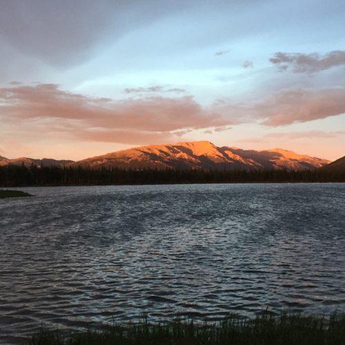 Sole a mezzanotte, Alaska