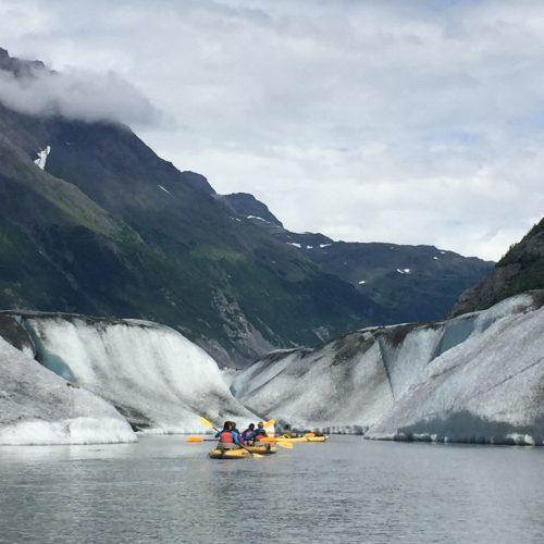 Kayak Valdez - Alaska on the road