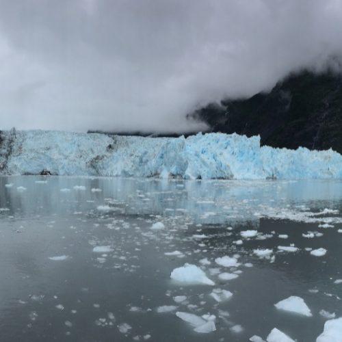 Columbia Glacier Alaska fai da te
