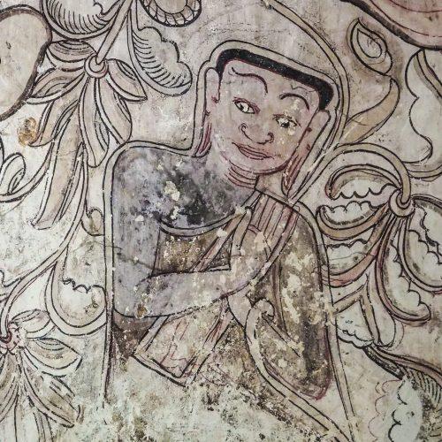 Hpo Win Daung, Pitture rupestri, Monywa, Myanmar
