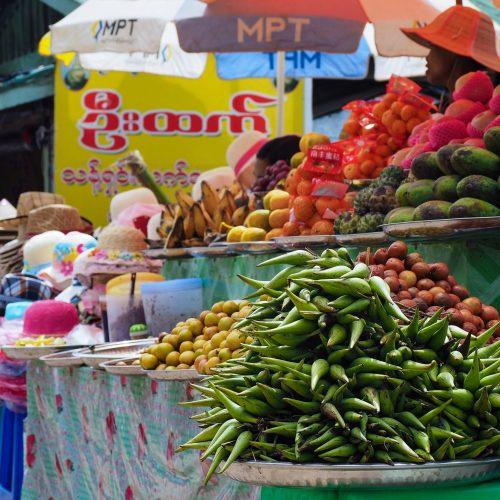 Frutta birmana, Myanmar