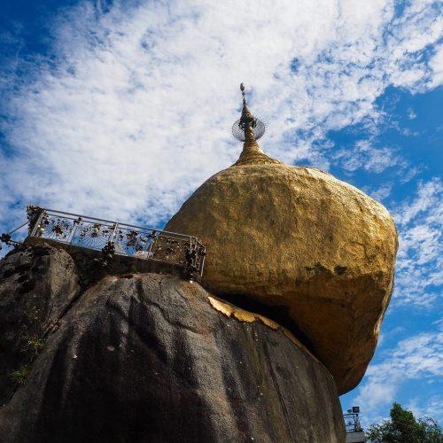 Golden Rock, Kyaikto, Kinpun, Myanmar
