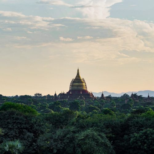 Dhammayazika Paya, Bagan, Myanmar