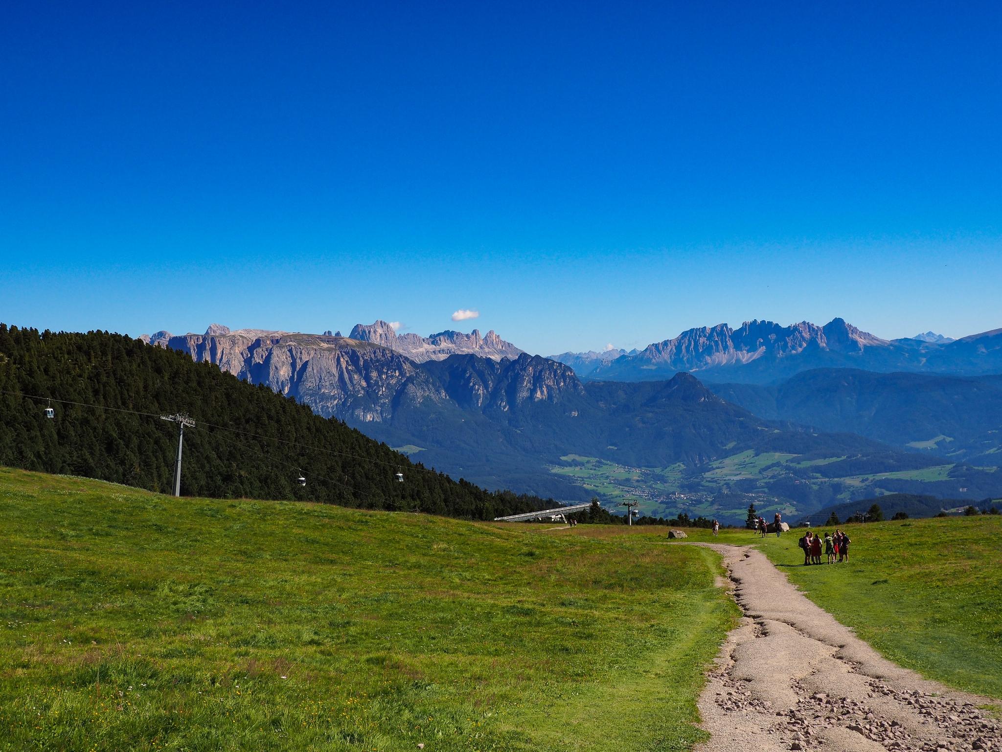 Sentiero 1, Corno Del Renon, Dolomiti