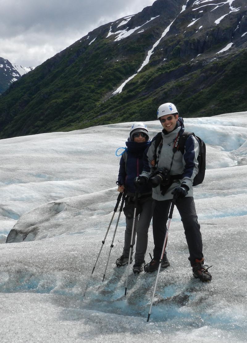 Sopra l'Exit Glacier