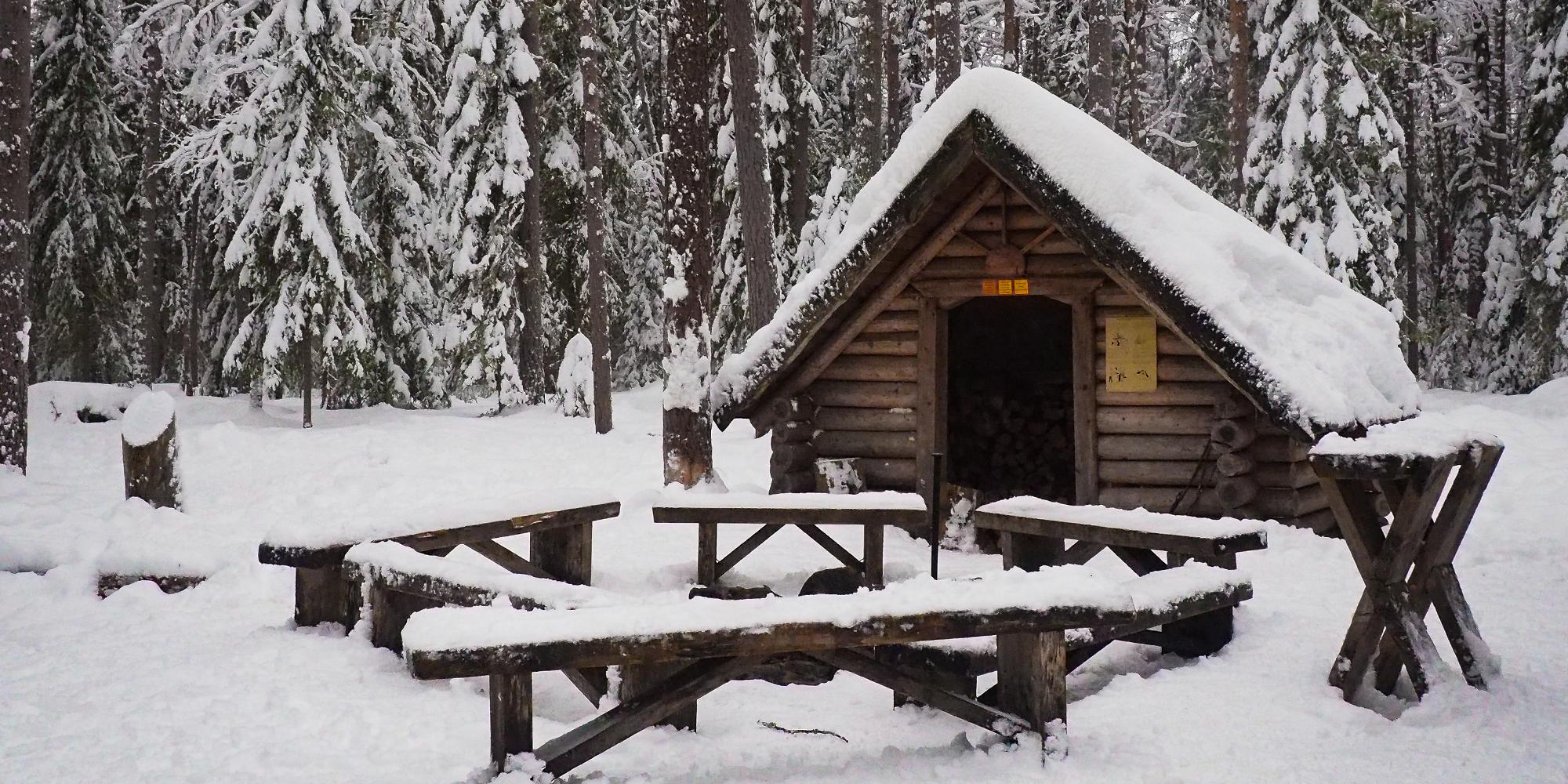 Finlandia - capanno