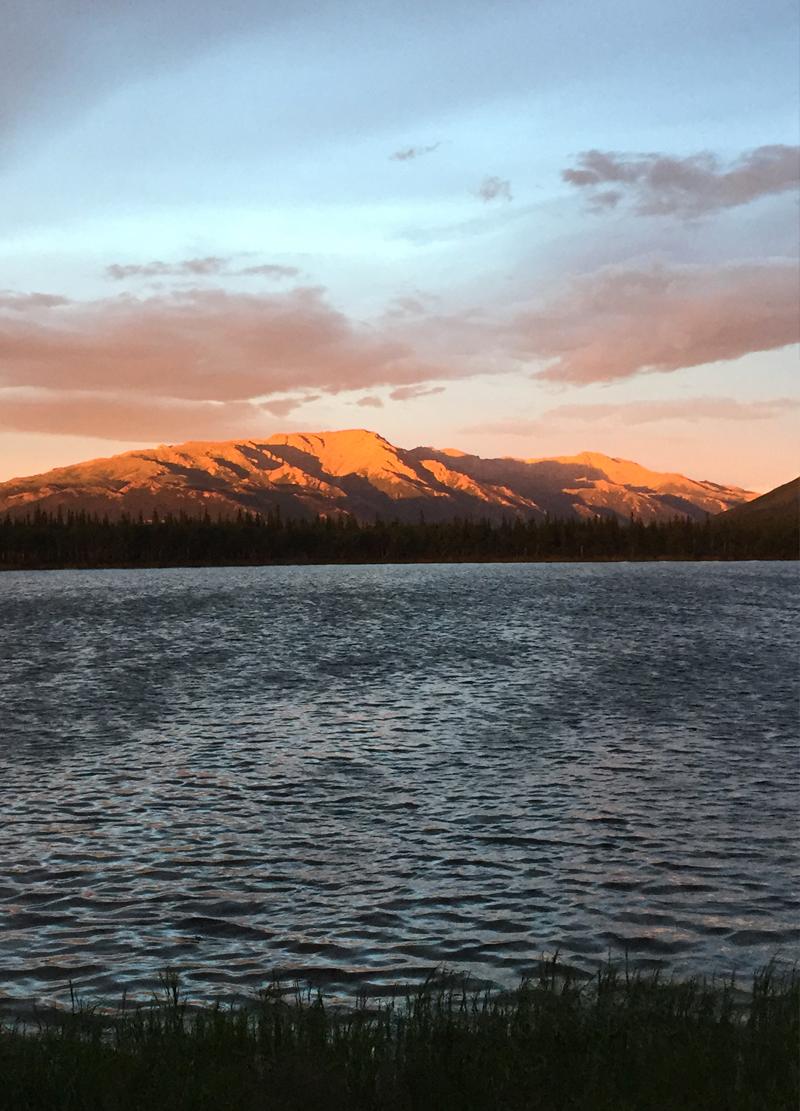 Sole di mezzanotte - Alaska